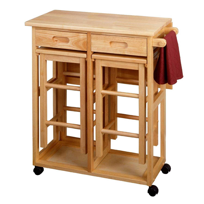 Space saver kitchen table set photo - 1