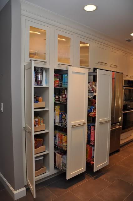 Tall Kitchen Pantry Ideas
