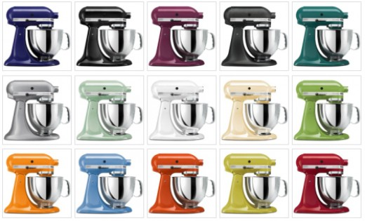 Kitchen Aid Stand Mixer Colors Takethisweeksplaylistco