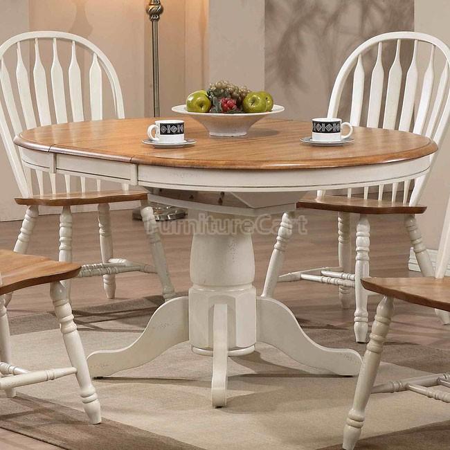 White And Oak Kitchen Table Ideas