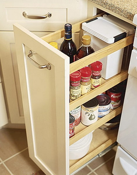 Kitchen Cabinets Ideas Cabinet Slides Slide Out Shelves Gorgeous Organizers Pull